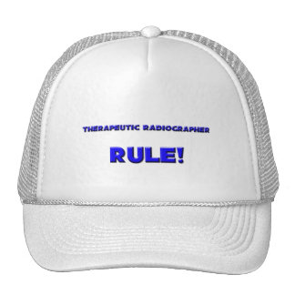Therapeutic Radiographer Rule! Mesh Hats