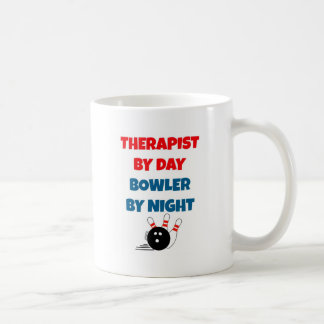 Therapist by Day Bowler by Night Coffee Mug