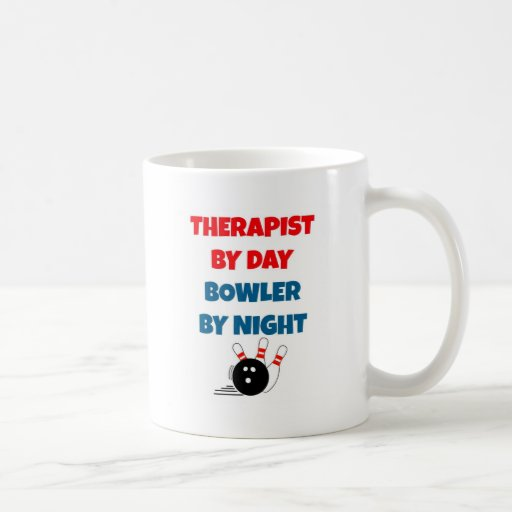 Therapist by Day Bowler by Night Mug