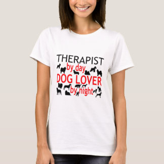 Therapist Dog Lover T-Shirt