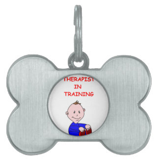THERAPIST PET NAME TAGS