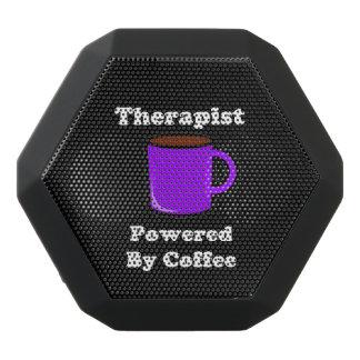 """Therapist""  Powered by Coffee Black Bluetooth Speaker"