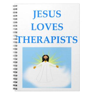 THERAPIST SPIRAL NOTEBOOK
