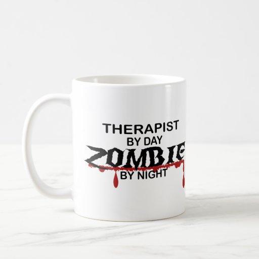 Therapist Zombie Coffee Mugs