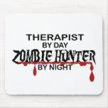 Therapist Zombie Hunter Mousepad