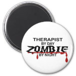 Therapist Zombie Magnets