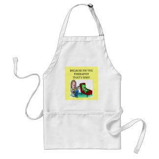 therapists know best adult apron