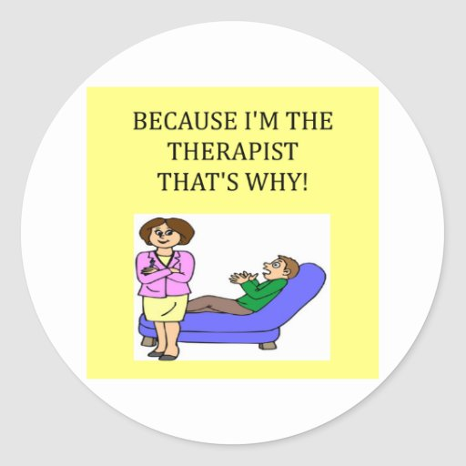 therapists know best stickers
