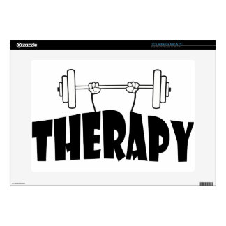 "therapy 15"" laptop skin"