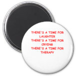 therapy 2 inch round magnet