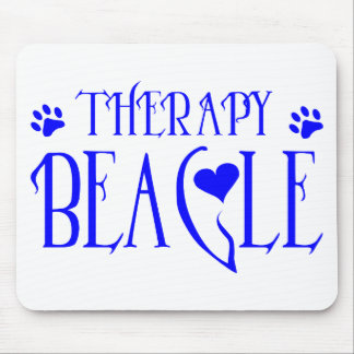 THERAPY BEAGLE MOUSE PAD