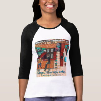 Therapy Café 3/4 Sleeve Jersey T-Shirt