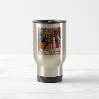 Therapy Café Stainless Steel 15 oz Travel/Commuter Travel Mug