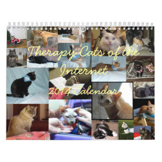 Therapy Cats of the Internet 2014 Calendar
