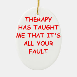 therapy christmas ornaments