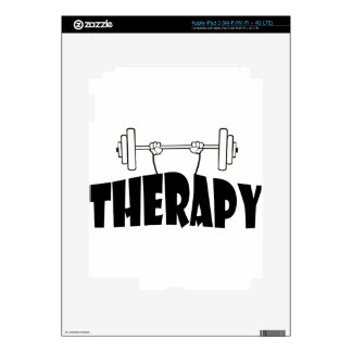 therapy decal for iPad 3