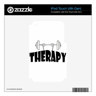 therapy decal for iPod touch 4G