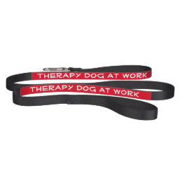 Therapy Dog at Work (leash) Pet Lead