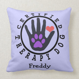 Therapy Dog Comfy Pillow