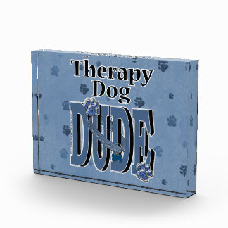 Therapy Dog DUDE Award