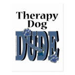 Therapy Dog DUDE Postcards