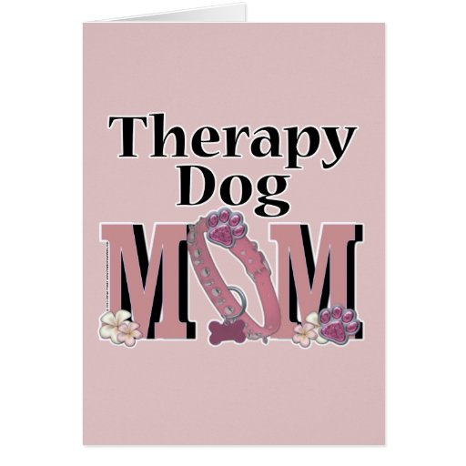Therapy Dog MOM Cards