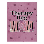 Therapy Dog MOM Post Cards