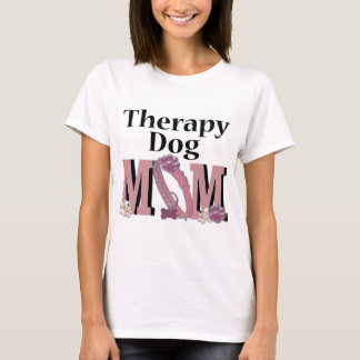 Therapy Dog MOM T-Shirt