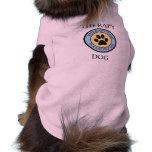 Therapy Dog Please Pet Me Pink Tank Top Shirt Doggie T Shirt
