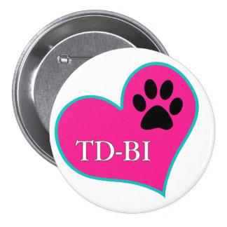 [Therapy Dogs Bloomington Illinois Pinback Button