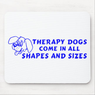 THERAPY DOGS MOUSE PAD