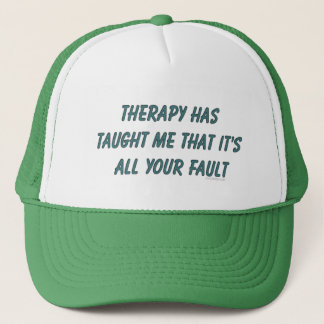 Therapy Has Taught Me Hats