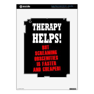 THERAPY HELPS iPad 3 SKIN