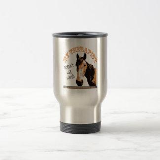 Therapy Horse Travel Mug