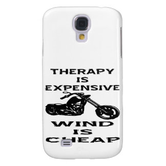 Therapy Is Expensive Biker Wind Is Cheap Samsung Galaxy S4 Cover