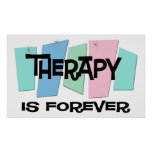 Therapy Is Forever Poster