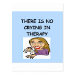 therapy joke post cards