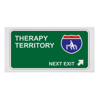 Therapy Next Exit Poster