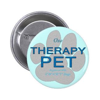 Therapy Pet Pinback Button