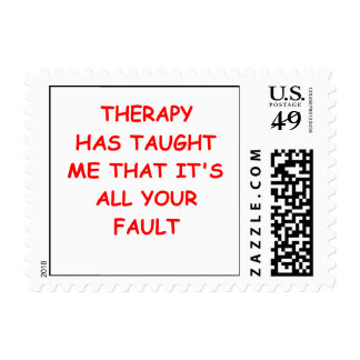 therapy postage