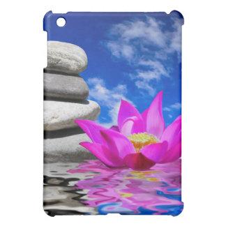 Therapy Rock Stones & Lotus Flower iPad Mini Covers