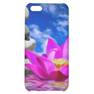 Therapy Rock Stones & Lotus Flower iPhone 5C Case