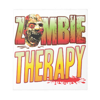 Therapy Zombie Head Memo Notepads