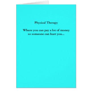 TherapyWhere físico usted puede pagar mucho mone… Tarjeta De Felicitación