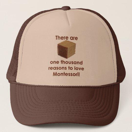 There are 1000 Reasons to Love Montessori Trucker Hat