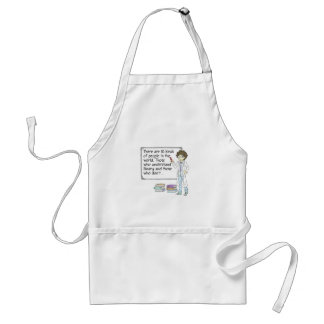 There are 10 kinds of people in the world adult apron