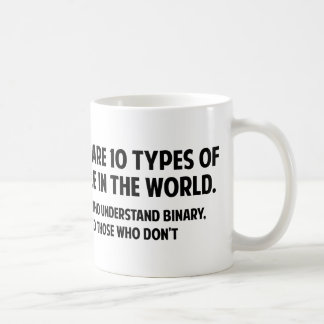 There Are 10 Types Of People In The World Coffee Mug