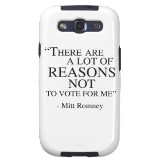 There are a lot of reasons not to vote for me samsung galaxy SIII case