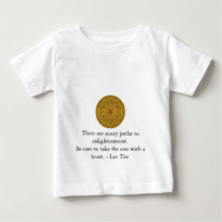 There are many paths to enlightenment............. baby T-Shirt