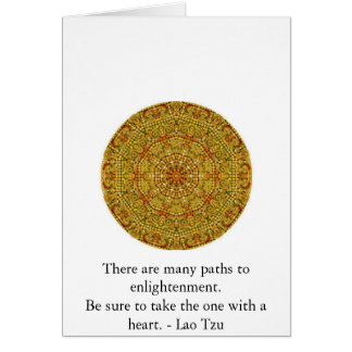 There are many paths to enlightenment............. card